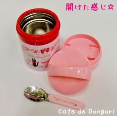 Cafe de Donguri | Rakuten Global Market: [Ghibli-goods][lunch box] Kiki's Delivery Service Rose thermal insulation cold insulation 300 ml [studio ghibli-gift] [Shinnyu study, new life preparations] [Bento]