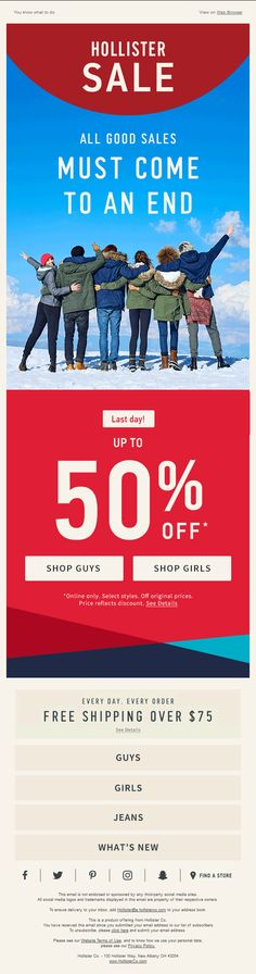Remember our predictions for email design trends 2017 that we did in the beginning of this year? Email Design Inspiration, Design Trends 2018, Guys And Girls, Girls Shopping, Hollister, Marketing, Travel, Mockup, Viajes