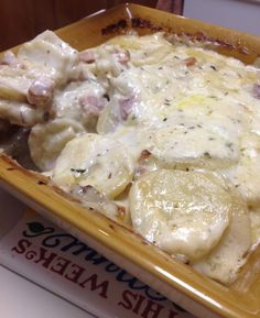 Scalloped Potatoes with Ham Casserole