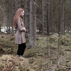 forest // girl // inspiration // pale // aesthetic