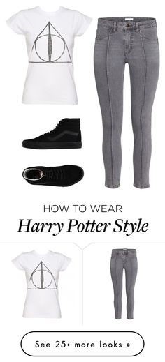 """Untitled #162"" by vaniadenisse16 on Polyvore featuring Vans Fashion Mode, Fashion 101, Grunge Fashion, Autumn Fashion, Fashion Outfits, Mode Harry Potter, Harry Potter Style, Harry Potter Outfits, Teen Style"