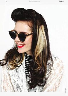 Kate Nash Shot Leoni - Blue Styled Hannah Oakley