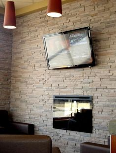 Brick Slate Effect Faux Stones Wall Coverings Wall
