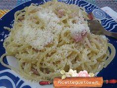 Ricetta spaghetti alla cricia ,Ricette primi piatti , Ricette cucina , Ricette -mobile