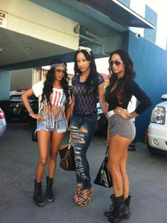 Draya with some bad bitches