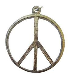 """I've been looking all over for this 1 3-4"""" Peace Sign...!  So happy to have it in our store! http://witchesgrass.com/products/1-3-4-peace-sign-amulet?utm_campaign=social_autopilot&utm_source=pin&utm_medium=pin"""
