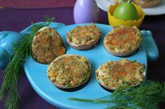 Nadziewane jajka na ciepło