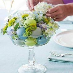 ostern tischdeko tischdeko selber basteln Tischdeko für Ostern