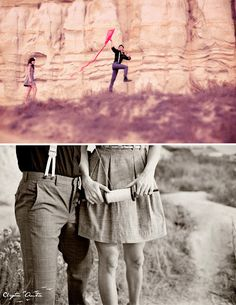 A Vintage Inspired Photo Shoot with a Kite