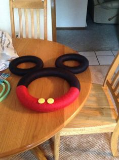 Mickey Mouse wreath by CreativeShorty on Etsy