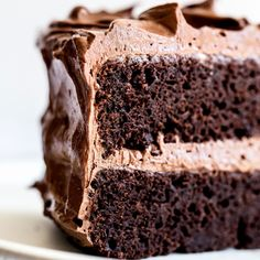 This Best Chocolate Cake recipe makes for the most flavorful, moist, and tender chocolate cake you've ever tasted! Easy, from-scratch, homemade recipe that's great for a crowd. No boxed mix here! Topped with a simple chocolate swiss meringue buttercream. Amazing Chocolate Cake Recipe, Best Chocolate Cake, Homemade Chocolate, Chocolate Buttercream, Nutella Chocolate, Chocolate Sponge, Chocolate Cupcakes, Chocolate Cake Batter Recipe, Nutella Brownies
