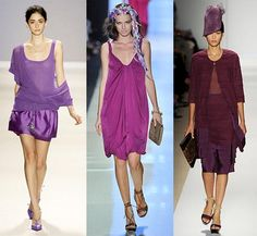 Purple fashion