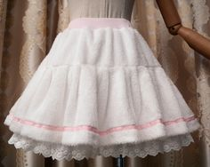 fluffy everyday skirt w shorts underneath for cold weather!