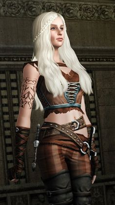 Daenerys Targaryen from Game of Thrones by Kurasoberina Sims 3 Sims Download, Free Sims, Sims 3 Mods, Sims Cc, Sims 3 Games, Sims Medieval, Sims 4 Characters, Viking Hair, Game Of Thrones Funny