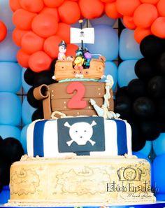 Festas especiais - Backyardigans Piratas