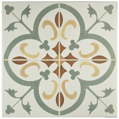 "EliteTile Revive 7.75"" x 7.75"" Ceramic Floor and Wall Tile in…"