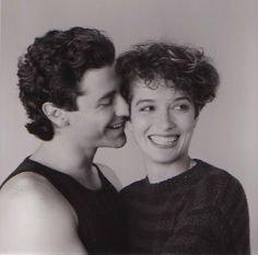 Corey Parker and Melanie Mayron in thirtysomething. The chemistry, girl.