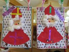 Süße Glut aus einem Kaffeefilter als Basis! Christmas Reef, Christmas Crafts For Kids, Christmas Decorations, Holiday Decor, Saint Nicholas, Fabric Scraps, Art For Kids, Arts And Crafts, Tatty Teddy