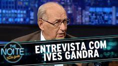 Danilo Gentili entrevista o jurista Ives Gandra em 2015