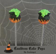 The Partiologist: Cauldron Cake Pops!