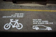 Bike v Car