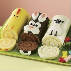 The Swiss Colony Easter Cake Trio
