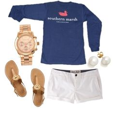 """Southern marsh"" by the-southern-prep on Polyvore"