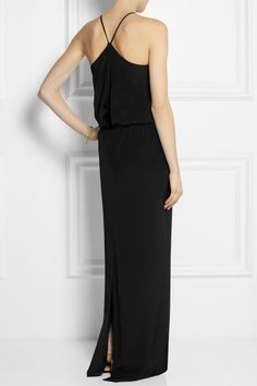 Tibi | Silk maxi dress | NET-A-PORTER.COM