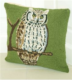 Long Eared Owl Hook Pillow- Chi O Creations