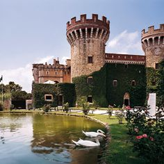 Castillo de Perelada, Girona. Spain