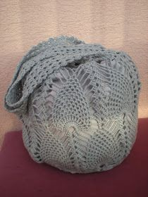 I'm getting many requests for a written pattern for this market bag. I didn't have one, so I dec...