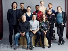 Star Wars: The Force Awakens' cast and creative team: 5 EW Exclusive Comic-Con portraits The new heroes and villains, Mark Hamill, and J.J. Abrams and Co. photographed at EW's Hard Rock Hotel San Diego studio. Photographed by Michael Muller for ew Source ew.com