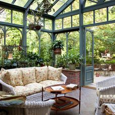 traditional patio by B. Jane Gardens