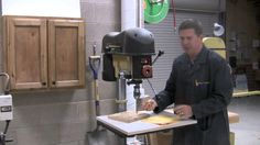 Drill Press Safety video
