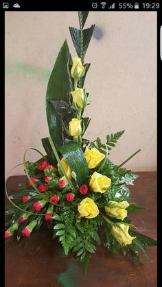 contemporary flower arrangements for church