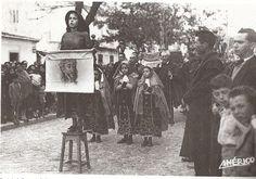 Procissão do enterro do Senhor, 1950, Setúbal, Portugal