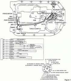 Automatic Transmission 4L60E Illustrated Parts drawing