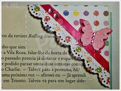 Marcador de Livro http://pinkandfun.blogspot.pt/