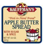 Apple Butter - Blue Label - With Sugar & Spice 15 calories/Tablespoon. So good!