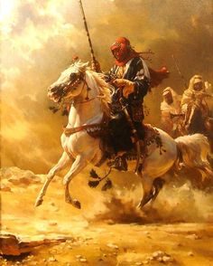 Andre Pater, (b. Sandstorm Oil on canvas x Private collection Fantasy Kunst, Fantasy Art, Arabian Art, Beautiful Arabian Horses, Islamic Paintings, Classical Art, Equine Art, Egyptian Art, Military Art