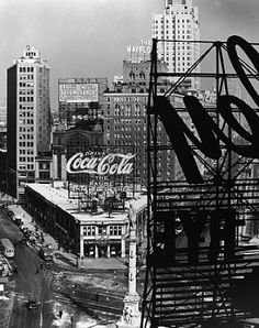 Berenice Abbott, Columbus Circle #3, New York