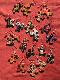 Recycled Puzzles pieces!