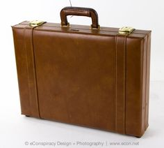 STEBCO VINTAGE DELUXE BROWN LEATHER EXECUTIVE ATTACHE CASE BRIEFCASE LUGGAGE VGC #STEBCO #Stebco #briefcase