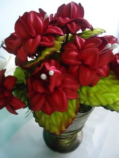 Colorful Flowers, Diy And Crafts, Bouquet, Show, Rose, Beautiful, Do Crafts, Flower Pens, Wedding Cake Photos
