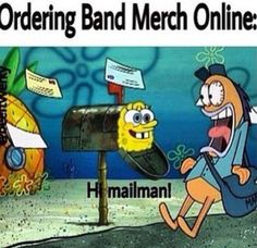 Exactly how I was when I was waiting for my PTV sweater XD