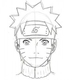 drawing naruto step by step 13