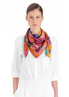90 x 90 cm scarf Hermès   Under The Waves Carré Hermes, Comment Porter Des. Carré  HermesComment Porter Des FoulardsÉcharpesFoulards ... 246e0c741be