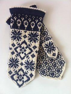 Ravelry: Maud pattern by JennyPenny Mittens Pattern, Knit Mittens, Knitted Gloves, Knitted Bags, Knitting Socks, Hand Knitting, Fair Isle Knitting Patterns, Knitting Stitches, Norwegian Knitting