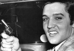 Elvis Presley after encounter with Nick Nixon in 1957.  In 2007, Nick Nixon came out and admitted he actually started the fight.