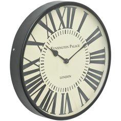 Kensington Cream Face Wall Clock